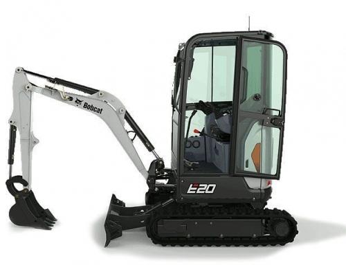 Excavadora compacta Bobcat E20