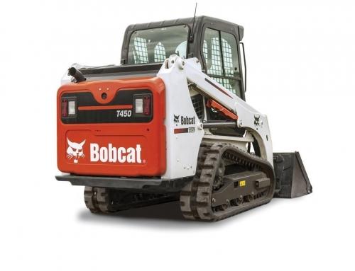 Cargadora de Orugas Bobcat T450